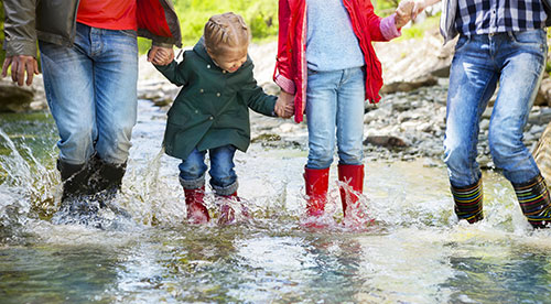 Familie Regenstiefel BH Oberland