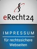 Bekleidungshandel Oberland Impressum erecht24 Siegel